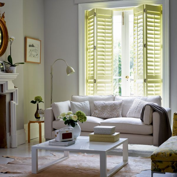Shutters for the living room